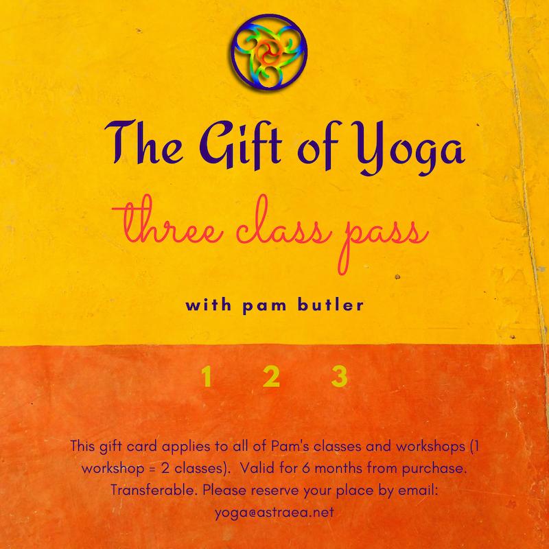 pam butler yoga gift card